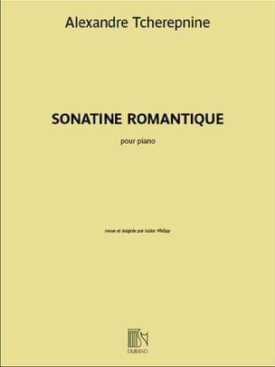 Sonatine Romantique opus 4 Alexandr Tcherepnine Partition laflutedepan