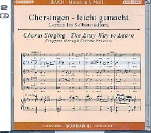 Messe En Si Mineur Bwv 232. 2 CD Soprano 2 CHOEUR - laflutedepan.com