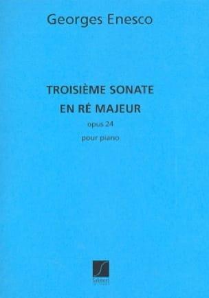 Sonate Opus 24-3 - ENESCO - Partition - Piano - laflutedepan.com