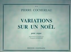 Variations Sur un Noël Pierre Cochereau Partition Orgue - laflutedepan