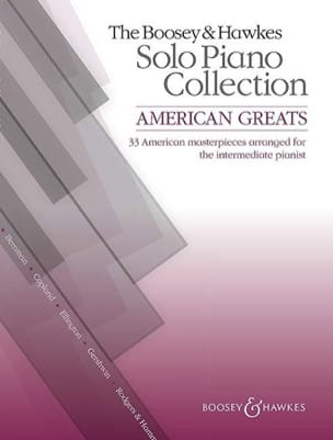 American greats Partition Piano - laflutedepan