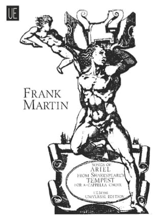 Songs of Ariel Frank Martin Partition Chœur - laflutedepan