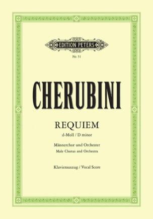 Requiem Ré Mineur - CHERUBINI - Partition - Chœur - laflutedepan.com
