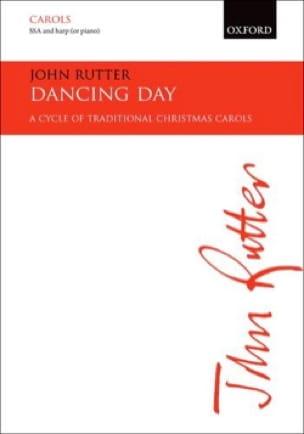 Dancing Day - RUTTER - Partition - Chœur - laflutedepan.com