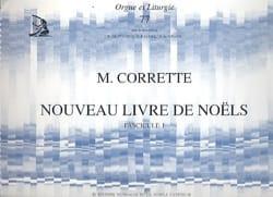 Nouveau Livre de Noëls Volume 1 CORRETTE Partition laflutedepan