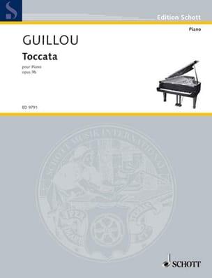 Toccata Op. 9b Jean Guillou Partition Piano - laflutedepan
