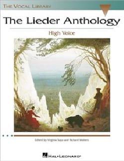 Lieder Anthology. Voix Haute Partition Mélodies - laflutedepan