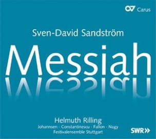 Messiah 2 CD Sven-David Sandström Partition Chœur - laflutedepan