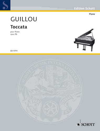 Toccata Op. 9b - Jean Guillou - Partition - Piano - laflutedepan.com