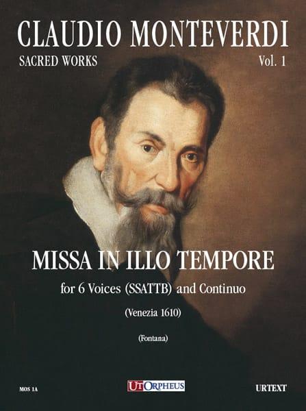 Missa In Illo Tempore - MONTEVERDI - Partition - laflutedepan.com