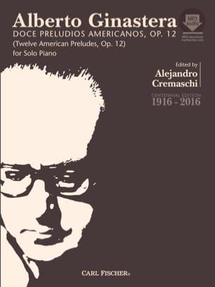 12 American Preludes op. 12 Complet - GINASTERA - laflutedepan.com