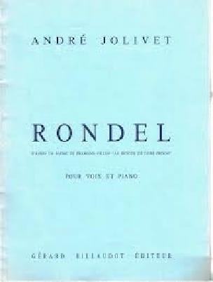 Rondel : Au Retour De Dure Prison - André Jolivet - laflutedepan.com