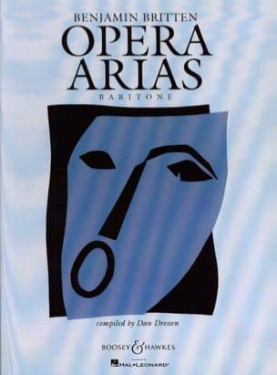 Opera Arias Baryton BRITTEN Partition Opéras - laflutedepan