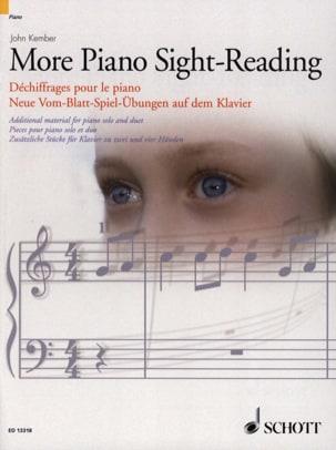 More Piano Sight-Reading John Kember Partition Piano - laflutedepan