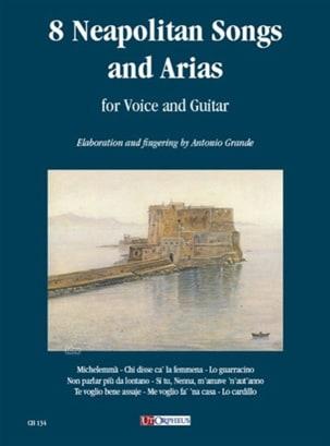 8 Neapolitan Songs And Arias Partition Guitare - laflutedepan
