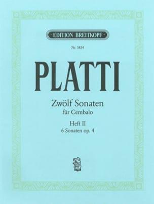 12 Sonates - Volume 2 - Giovanni Benedetto Platti - laflutedepan.com