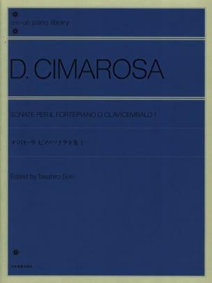 Sonatines Volume 1 CIMAROSA Partition Piano - laflutedepan