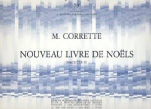 Nouveau Livre de Noëls Volume 3 - CORRETTE - laflutedepan.com