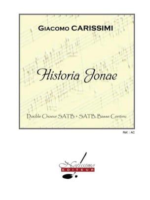 Historia Jonae Giacomo Carissimi Partition Chœur - laflutedepan