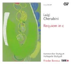 Requiem en do CHERUBINI Partition Chœur - laflutedepan