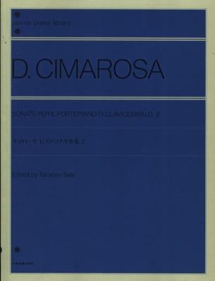 Sonatines Volume 2 CIMAROSA Partition Piano - laflutedepan