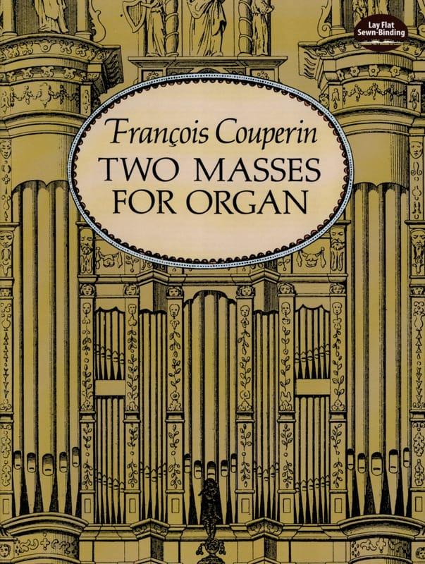 2 Messes pour Orgue - COUPERIN - Partition - Orgue - laflutedepan.com