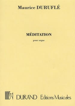 3 Méditations Guy Ropartz Partition Orgue - laflutedepan