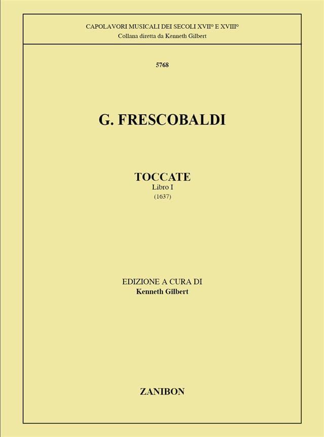 Toccatas Volume 1 - FRESCOBALDI - Partition - laflutedepan.com