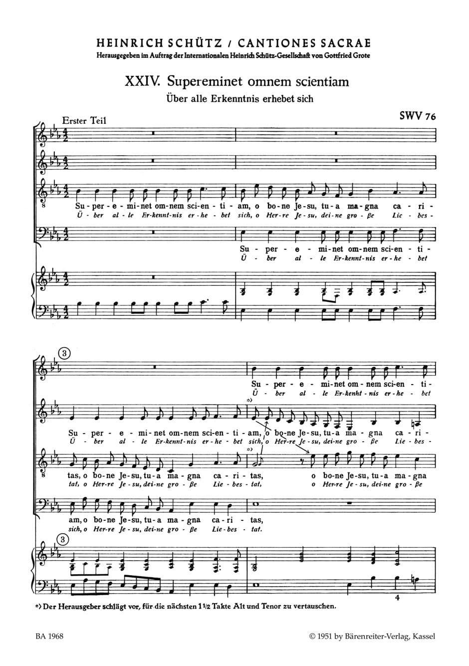 2 Motets Nr. 24 / 25 - SCHUTZ - Partition - Chœur - laflutedepan.com