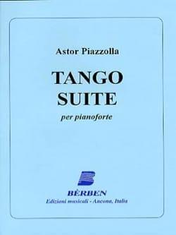 Tango Suite Astor Piazzolla Partition Piano - laflutedepan