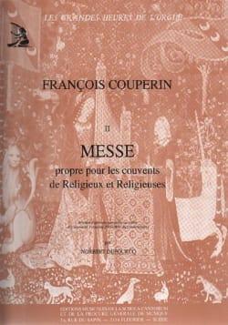 Messe Pour les Couvents COUPERIN Partition Orgue - laflutedepan