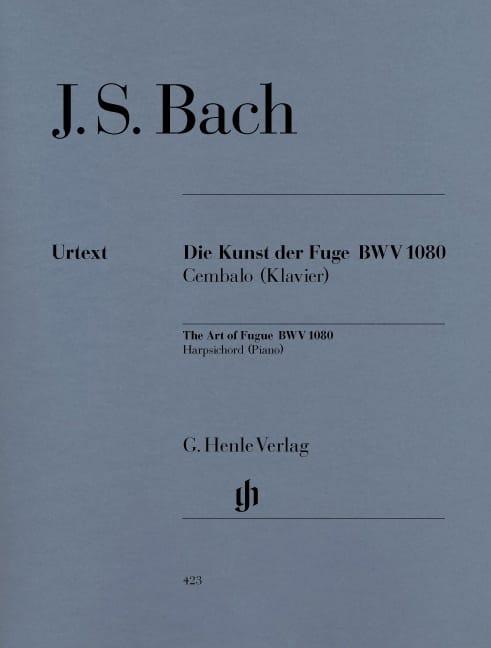 L'art de la Fugue BWV 1080 - BACH - Partition - laflutedepan.com