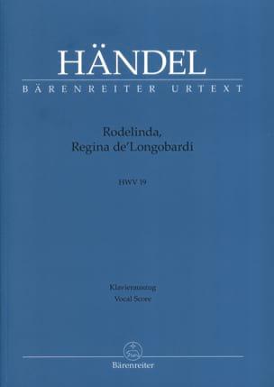 Rodelinda, Regina De' Longobardi. HWV 19 HAENDEL laflutedepan