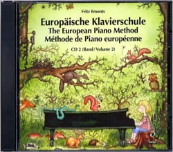 Méthode Européenne de Piano Volume 2 - CD Fritz Emonts laflutedepan