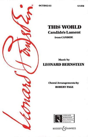 This world. Candide BERNSTEIN Partition Chœur - laflutedepan