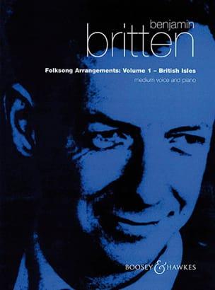 Folksongs Volume 1 Voix Moyenne British Isles BRITTEN laflutedepan
