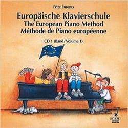 Méthode Européenne de Piano Volume 1 - CD Fritz Emonts laflutedepan