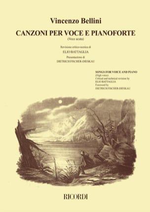 Canzoni Per Voce et Pianoforte Voix Haute Volume 1 laflutedepan
