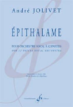 Epithalame Pour Orchestre Vocal A 12 Parties laflutedepan