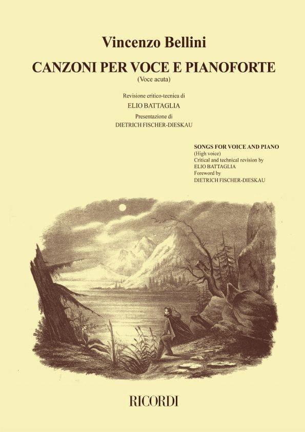 Canzoni Per Voce et Pianoforte Voix Haute Volume 1 - laflutedepan.com