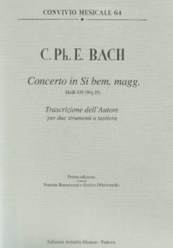 Concerto En Si Bémol Majeur Wq 25. 2 Clavecins laflutedepan