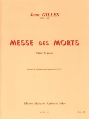 Requiem Jean Gilles Partition Chœur - laflutedepan