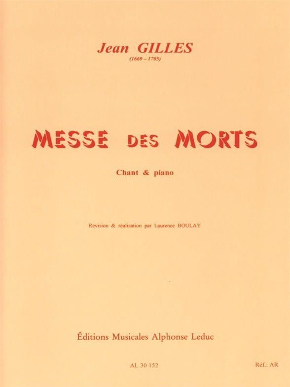 Requiem - Jean Gilles - Partition - Chœur - laflutedepan.com