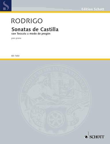 Sonatas de Castilla 1950/51 - RODRIGO - Partition - laflutedepan.com