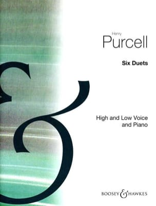 Henry Purcell - 6 Duetos - Partition - di-arezzo.es