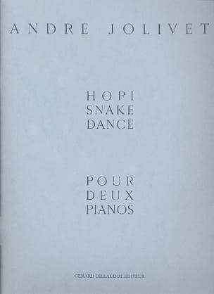 Hopi Snake Dance. 2 Pianos André Jolivet Partition laflutedepan