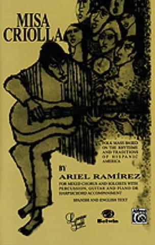 Misa Criolla - Ariel Ramirez - Partition - Chœur - laflutedepan.com