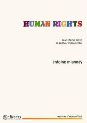 Human Rights - Antoine Miannay - Partition - Chœur - laflutedepan.com
