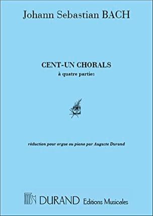 101 Chorals à 4 Parties BACH Partition Piano - laflutedepan