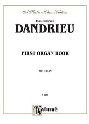 1er Livre D'Orgue DANDRIEU Partition Orgue - laflutedepan